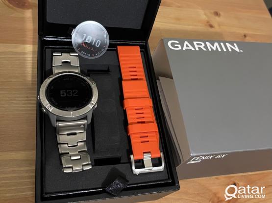 Garmin Fenix 6X pro solar titanium