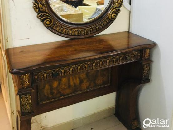 For sell Console table with Mirror