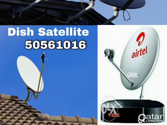 We do all kinds of satellite dish works. Please call 50561016