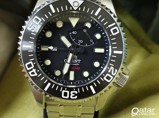 Orient Automatic Professional Diver's 300m Gents Watch CFD0C001B for Saturation Diving