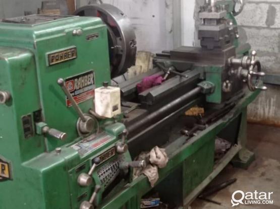 Lathe Machine Urgent For Sale !
