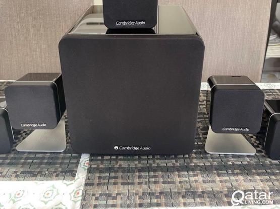 Cambridge Audio Award Winner Minx 5.1 Speakers