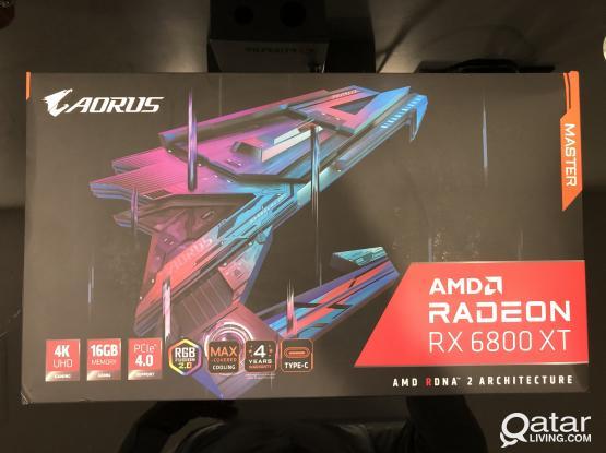 Radeon 6800 XT - 16G AMD (Brand New)