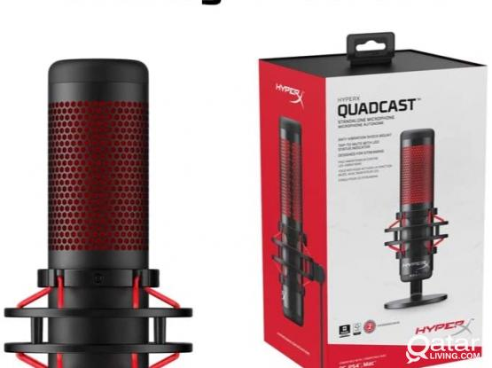 New HyperX QuadCast - USB Condenser Gaming Microphone, for PC, PS4 and Mac