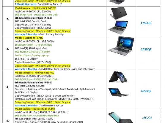 We Are Selling Use Desktop And Laptop - See all the details of the picture I am putting through 33176355