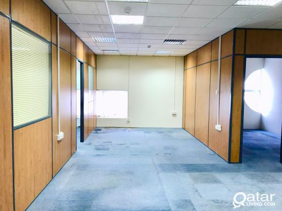 100 Sqm Partitioned Office Space Available in D Ring Road