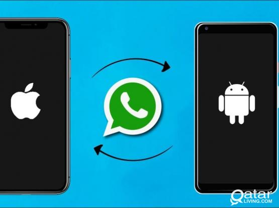 Transfer Whatsapp from Android <> iPhone