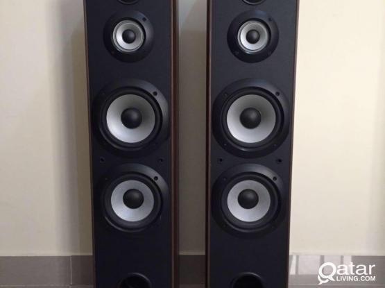 Sony Floor Standing Speaker One Pair & Center speaker