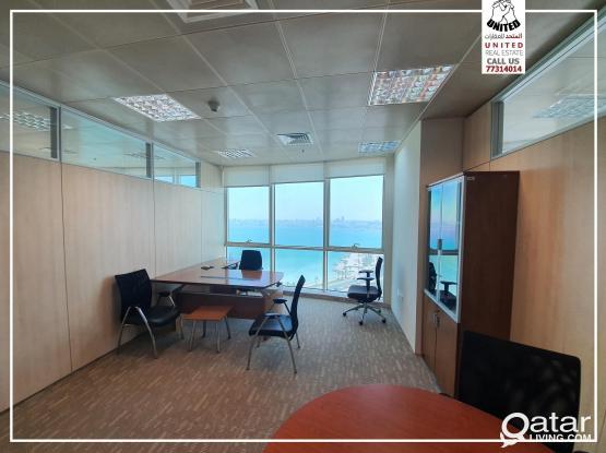 Sea View Service office - مكاتب علي كورنيش الدفنه