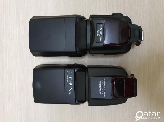 Flash Speedlites for Nikon & Canon