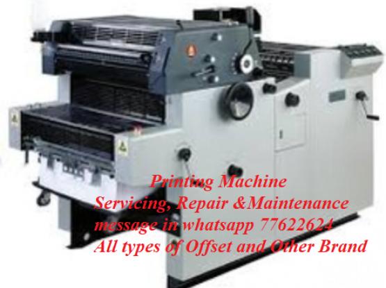 Offset Printing Machine Servicing