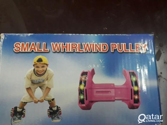 Roller wheel can attach with any shoes