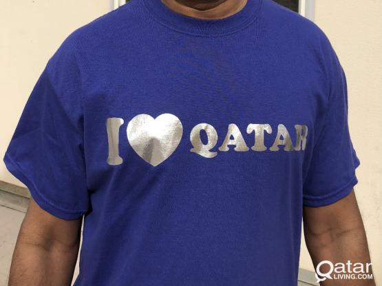 Printed T shirts & branding