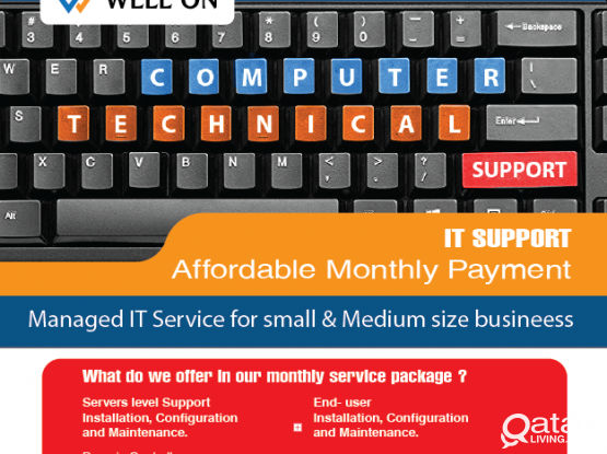 We are introducing cost-effective IT Support services that will save you money.
