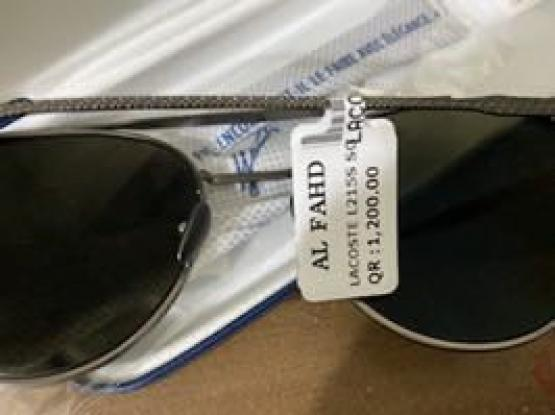 Lacoste sunglasses (Unwanted gift)