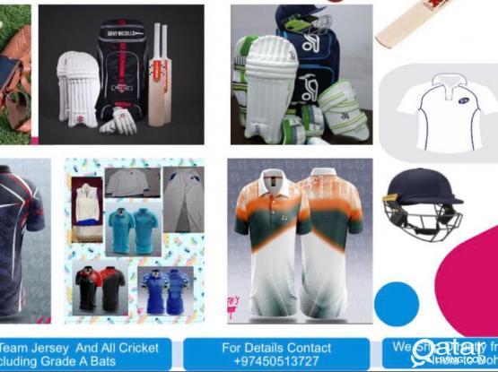 Cricket Bats And Equipments And Dresses