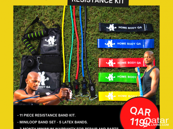 *SALE* Full Resistance Band Kits - 17 piece (NEW)