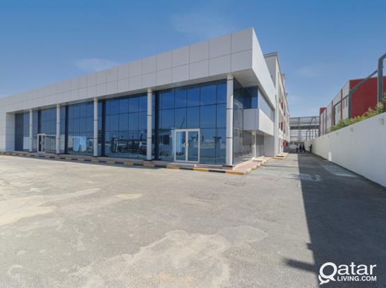 Spacious Warehouse with 24 Rooms, Showroom and Offices