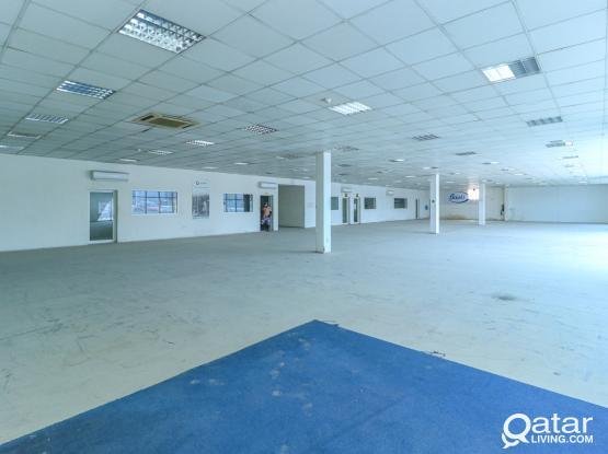 3002SQM Showroom  for rent In Industrial Area