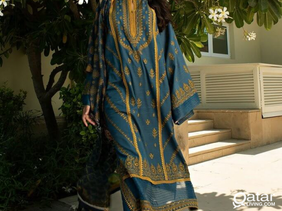 Heavy Embroidered Khaddar suits