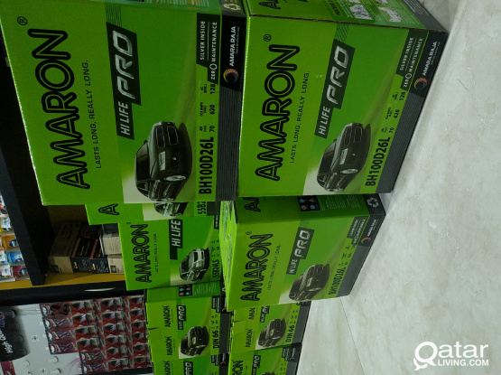 Free delivery and installation for car batteries