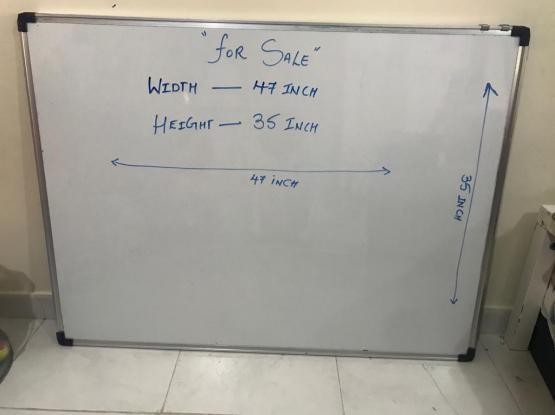 Magnetic White Board 90x120 CM