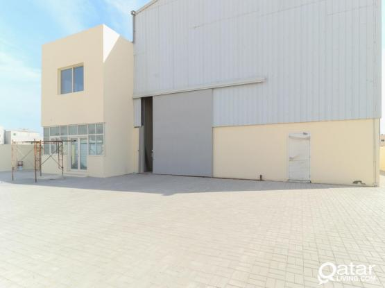 Brand-new Warehouse with 6 Rooms, Showroom and Offices