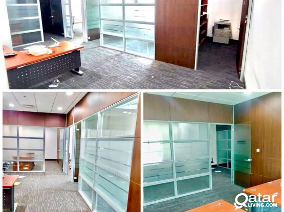 Offices for Rent at BANKSTREET in Different Buildings!! 50 Sqm to 350 Sqm