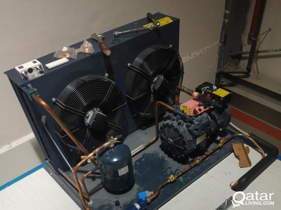 freezer and chiller room installation and maintenance