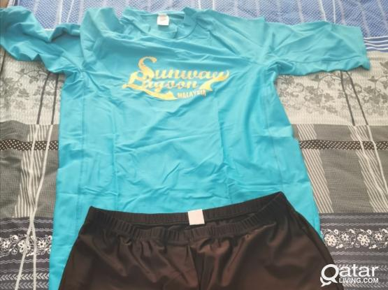2 Swimming Costume Ladies  and Girls for 50 riyal