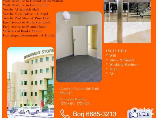 Rooms For Kabayan Near Hamad Metro Station