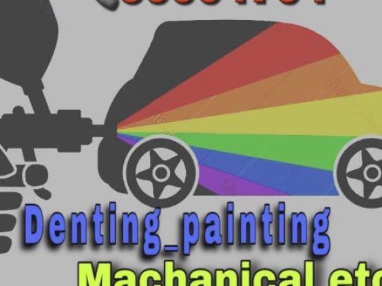 Denting Painting Mechanical Ac Services For Car