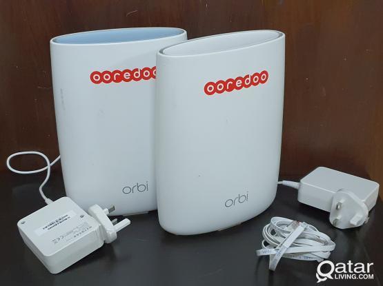 Orbi 5G router and satlite