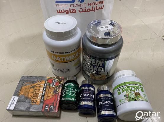 Gym Supplements(Half Price)