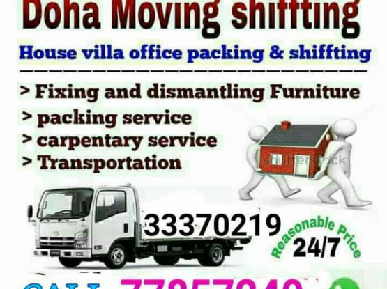 Low Price Doha Moving Shifting Service -33370219