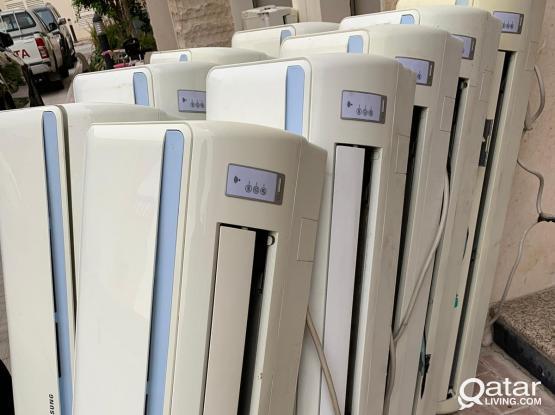 Sumsang AC available 1 ton1.5ton 2 ton 2.5 ton.Call: 66407826