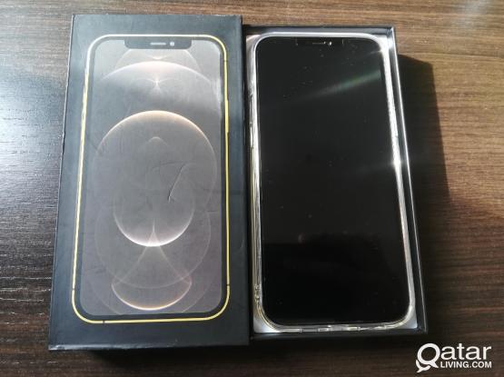 GOLD IPHONE 12 PRO MAX / 256 GB / MASTER COPY