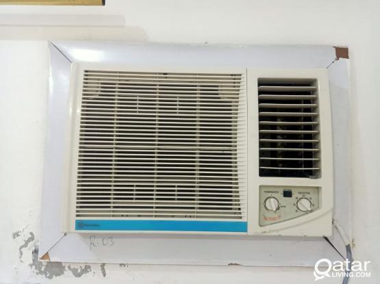 2 Window ACs & 1 Split AC