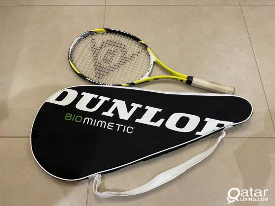 DUNLOP 525 Tennis Racket with case
