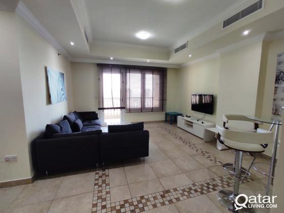 INCLUDING ALL BILLS...2 BHK FURNISHED APARTMENT WITH MARINA VIEW ..PORTO ARABIA