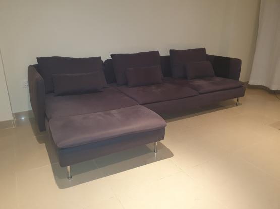 IKEA_SODERHAMN_4-seat sofa, with chaise longue