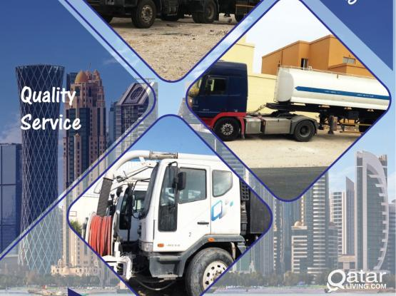 Sewage cleaning services(Jetting Tanker)
