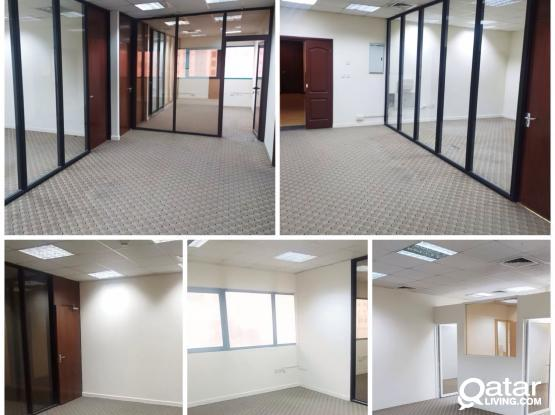 Offices for Rent at MUSHERIB in Different Buildings!! 115 Sqm to 700 Sqm
