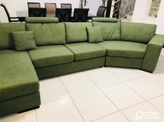 Home center L shape sofa