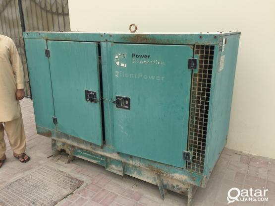 For Sale - Diesel Generator 30KVA  (Overhaul Required)