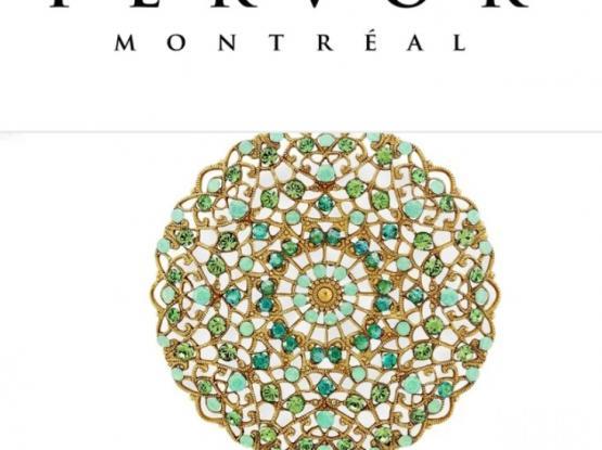 Fervor Montreal Paris 1919 - Neckpiece with Earstuds