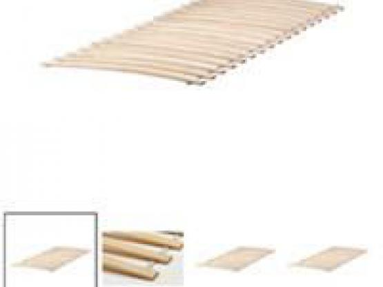Two Ikea Slatted Bed Bases