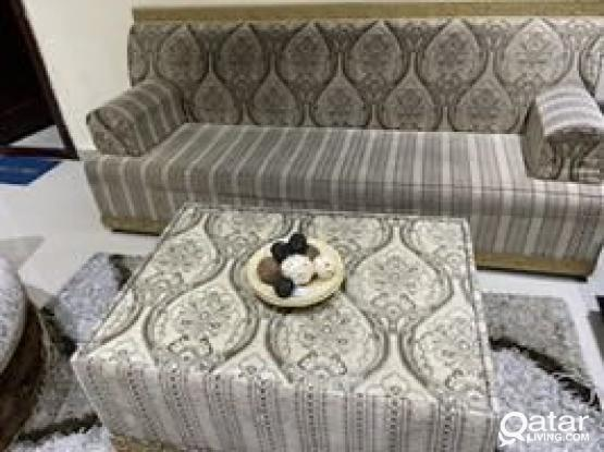 Sofa And Center Table For Sale
