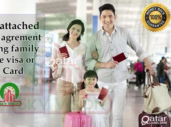 Very low price, Tenancy Contract/House Contract For family Permanent Residence Visa & Health card
