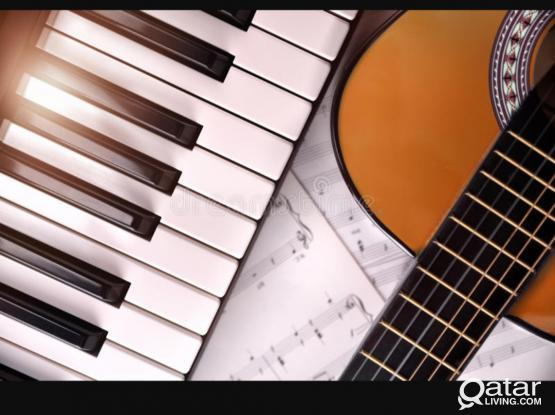 GUITAR,PIANO/KEYBOARD,VOCAL LESSONS